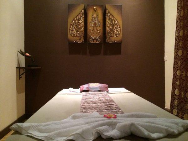 Oil Massage, Masaje con aceites, Spa Room