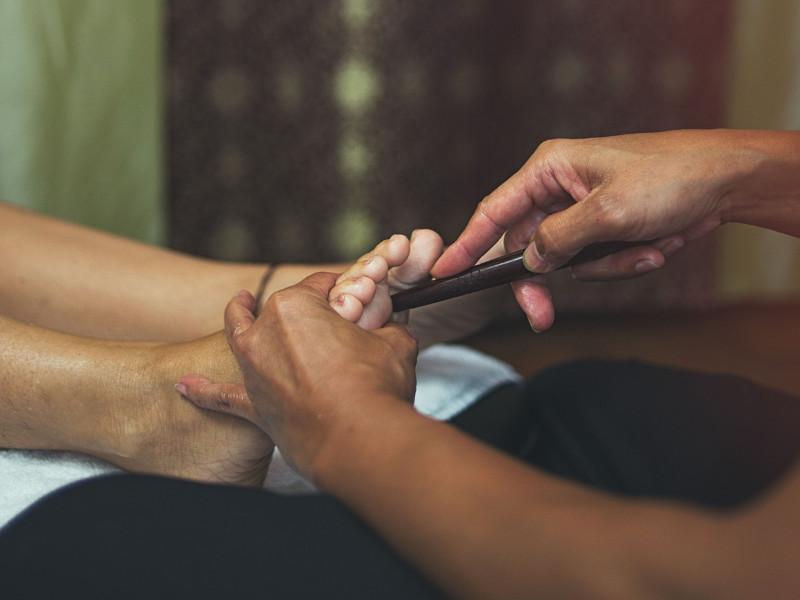 Foot Massage, Masaje de pies