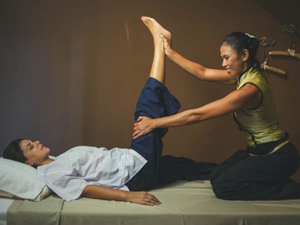 Thai Massage, Masaje tailandes